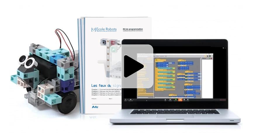 kit robotique pas cher pour éducation nationale (école primaire, collège, lycée)