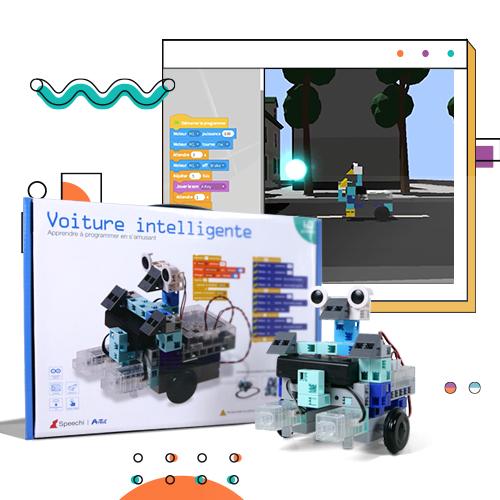 apprendre la programmation en ligne en Scratch et la robotique pendant les vacances d'été