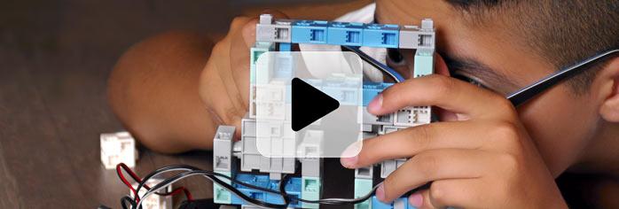 apprendre à programmer avec un robot facile à construire pour éducation nationale