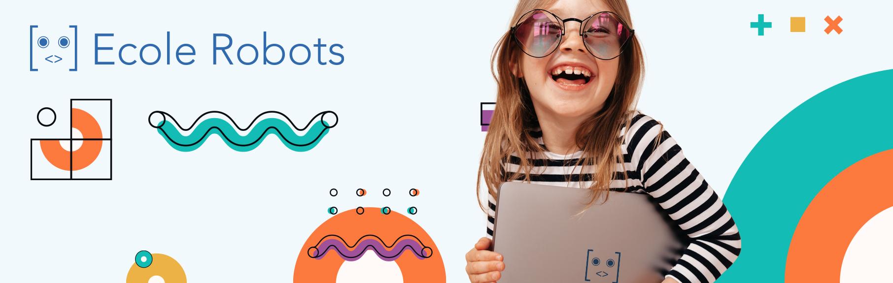 teaser platforme jeu école robot