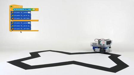 Programmer en scratch des robots pédagogiques à l'école