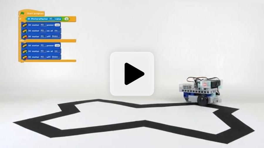 Vidéo des robots programmables des kits robotiques pour Education Nationale