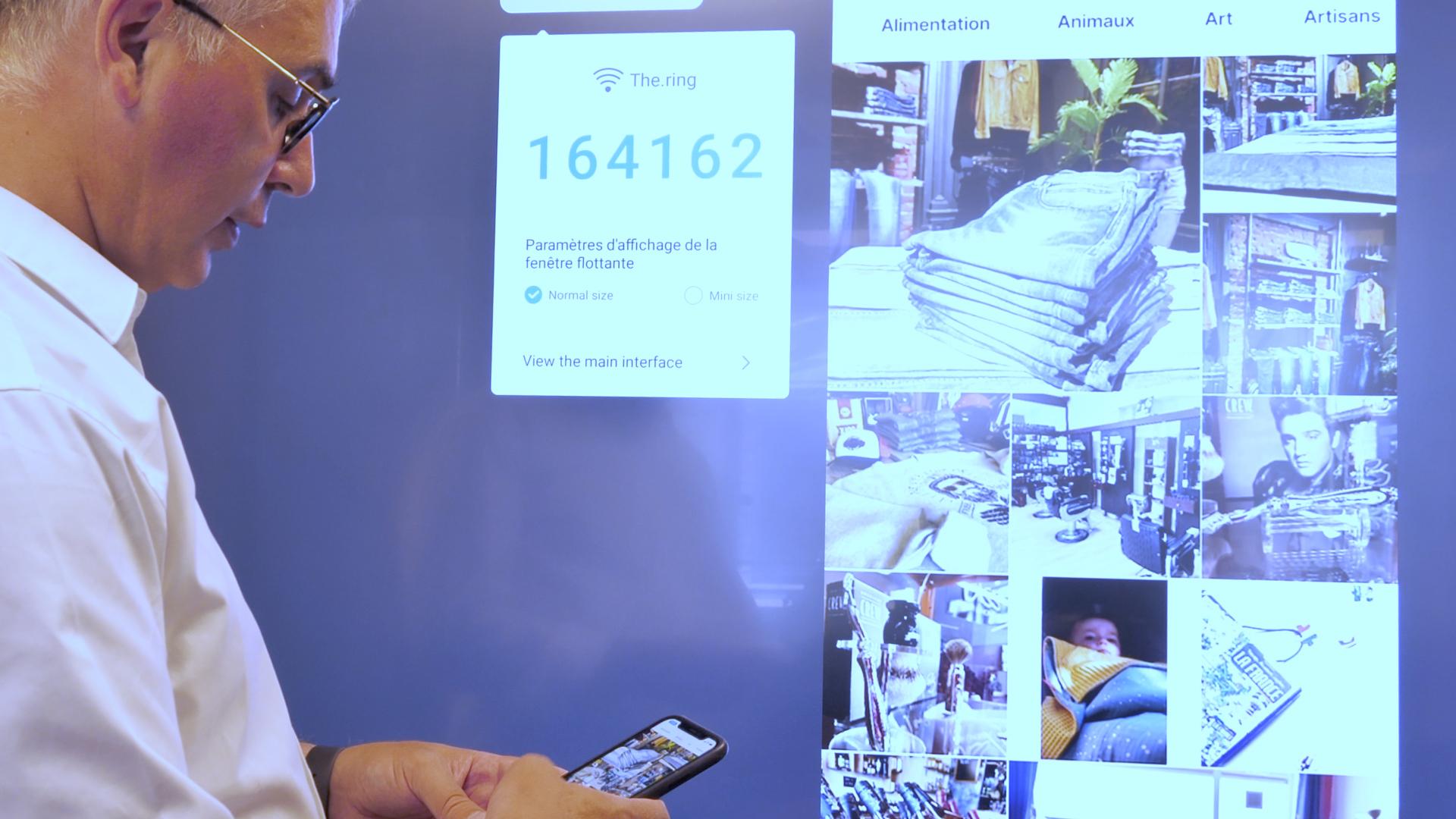 l'écran interactif, un outil de présentation en 4K