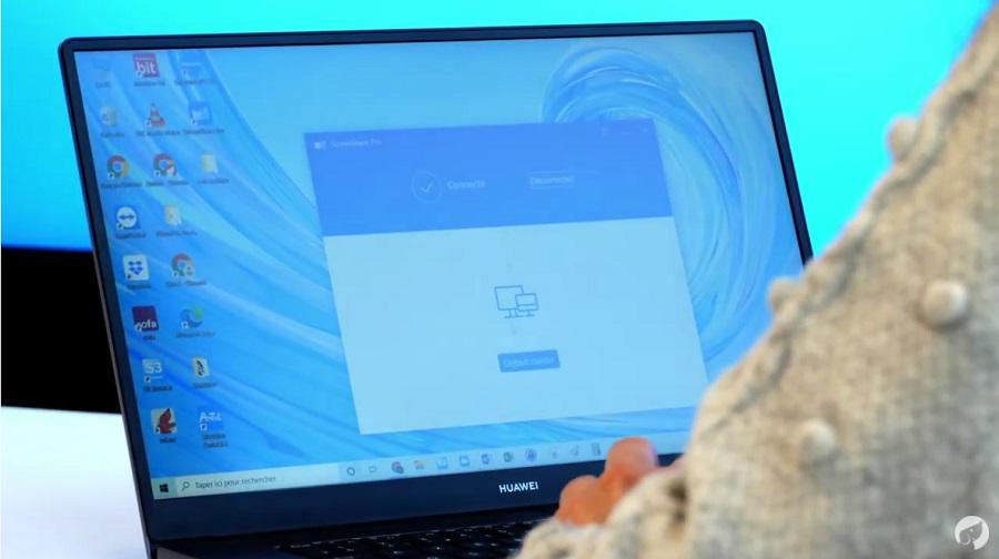 tuto partage d'écran avec ScreenShare sur un écran d'affichage
