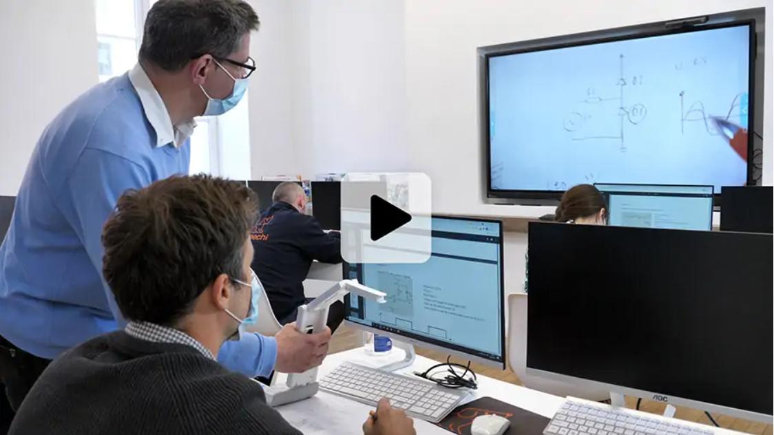 vidéo visualiseur de documents sans fil