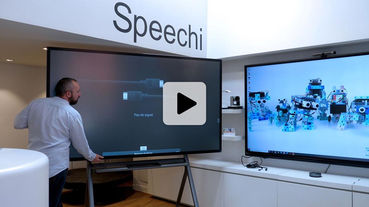 écran interactif géant tutoriel vidéo