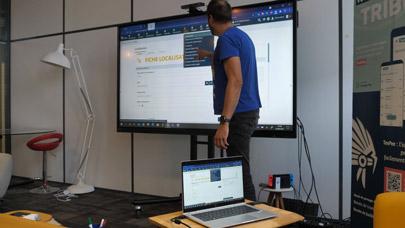 rendre son PC tactile en le partageant sur écran interactif - ENI